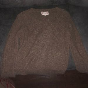 Comfy brown sweater size L AMBIANCE